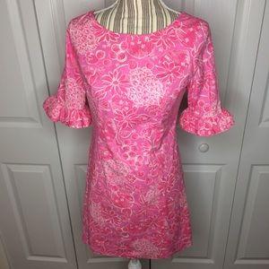 Lilly Pulitzer pink Fiesta stretch dress